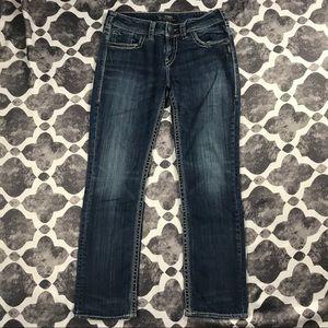 •{Silver}• SUKI straight jeans 29